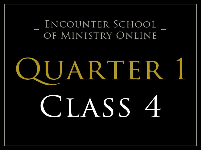 Class 4: Temples of the Holy Spirit