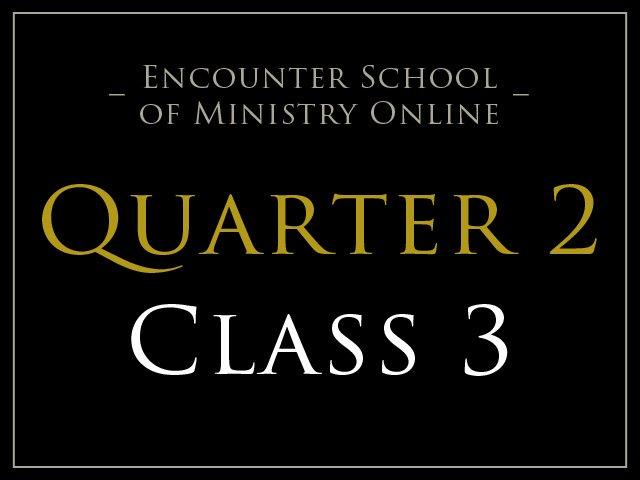 Class 3: Prayer Model