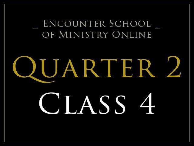 Class 4: Faith and Healing