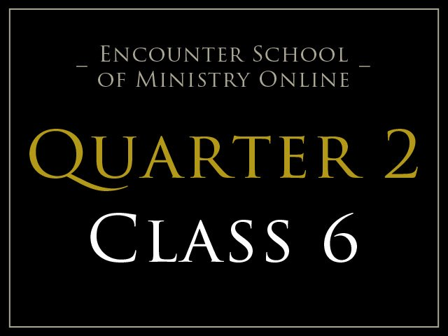 Class 6: Pioneering in Healing Ministry