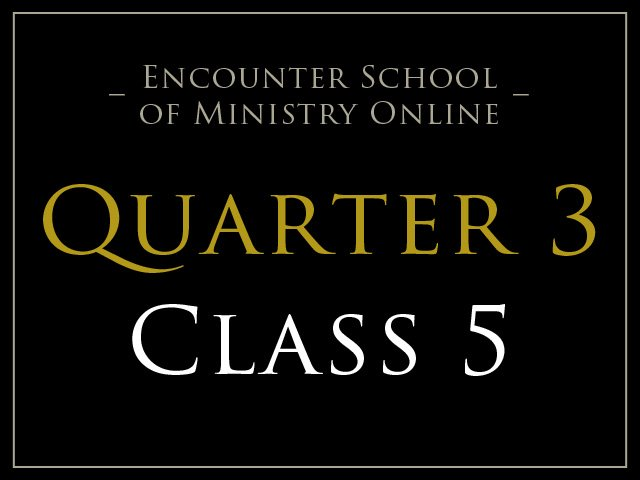 Class 5: Prophetic Activations & The Word of Knowledge Ministry