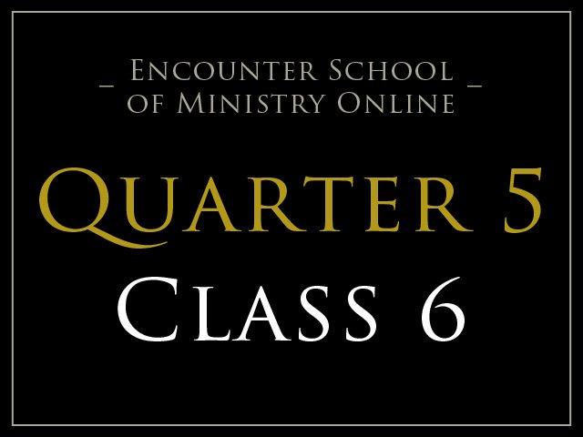 Class 6: The Response